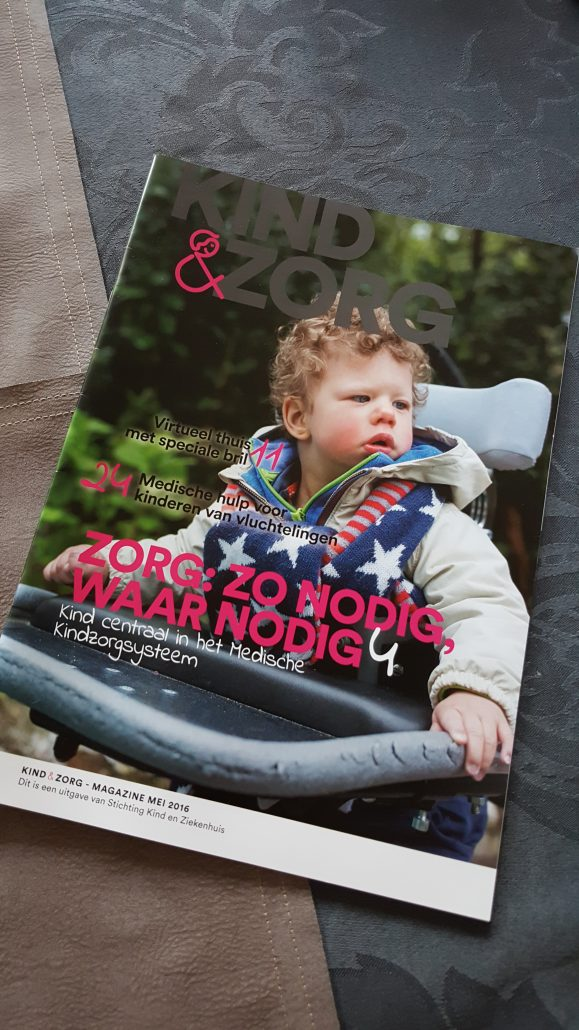 Een magazine waarin kind en medische zorg centraal staat